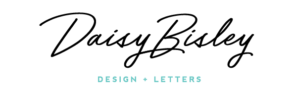 Design + Letters by DaisyBisley